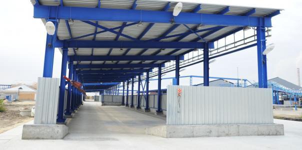 Ремонт антикоррозионного покрытия металлоконструкций навеса площадки для складирования нефтяного битума в контейнерах типа «Кловертейнер» установки 19-3 производства №1 ОАО «Газпромнефть-ОНПЗ»