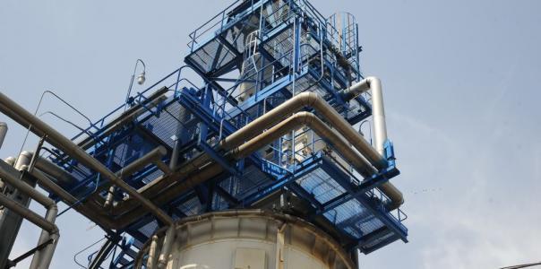 Работы по устройству антикоррозионной защиты внутренней поверхности приемной емкости жидкой серы 20V-100 и антикоррозионной защиты днища, корпуса и перегородки реактора 20Р-1,2